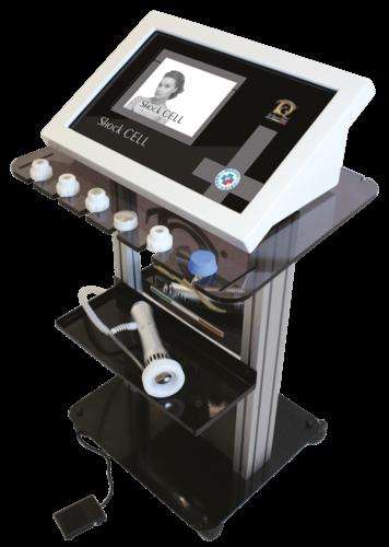 Immagine dispositivo apparecchiatura Ondes de choc en la médecine esthétique et pour la Physiothérapie