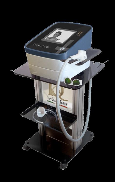 Apparecchiatura per epilazione con Laser a Diodo - laser-eclair-prova