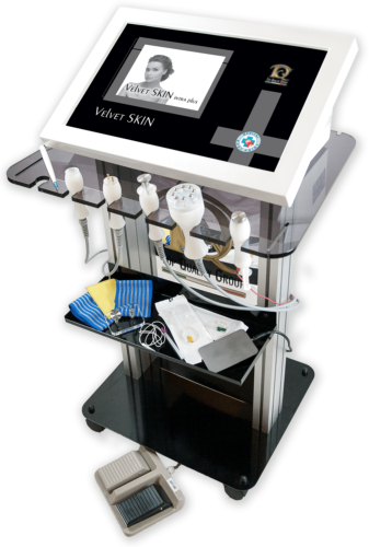 Immagine dispositivo apparecchiatura Radiofréquence, Électroporation en Médecine Esthétique et Physiothérapie. Radiofréquence Fractionnée, Radiofréquence Intradermique et Radioscalpel.