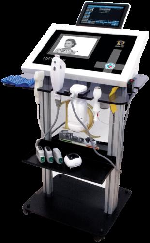 Immagine dispositivo apparecchiatura Ultrasons focalisés et Électroporation en Médecine Esthétique